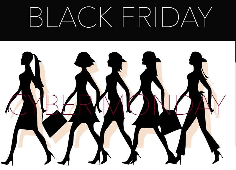 Black Friday · Cyber Monday