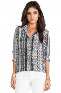 Revolve Clothing: Equipment Python Blouse