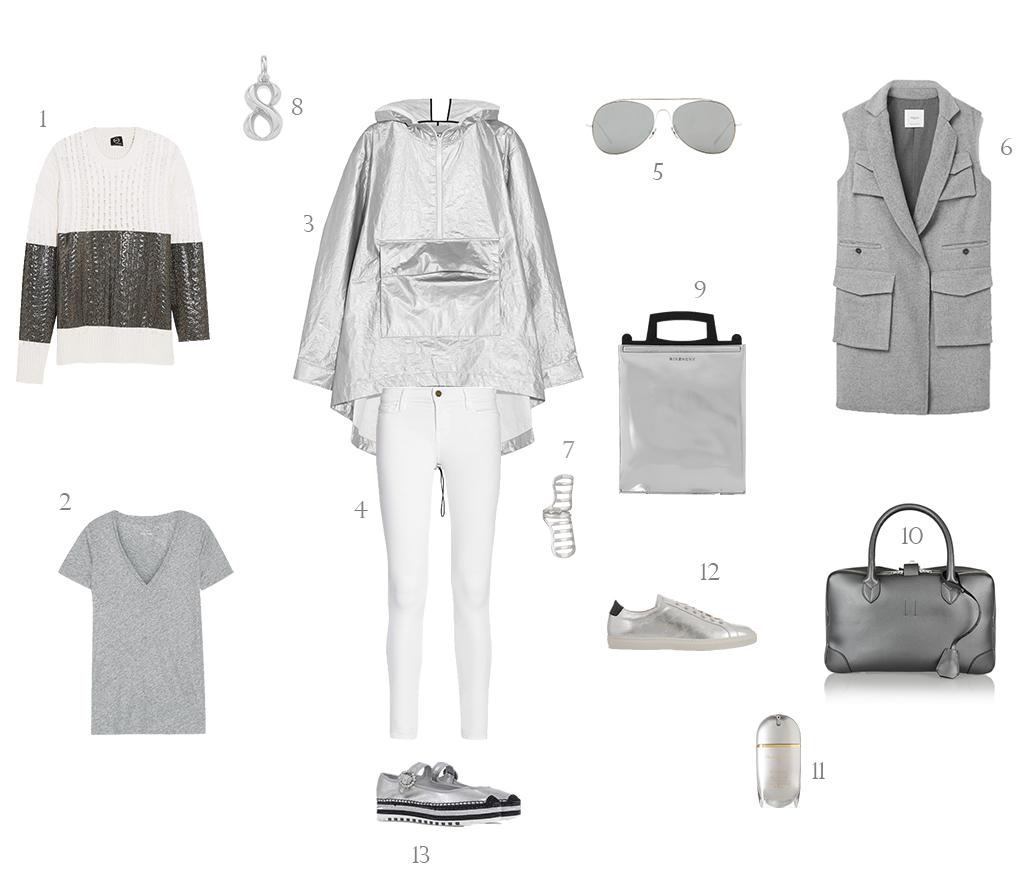 Groutfit Outfit en Gris