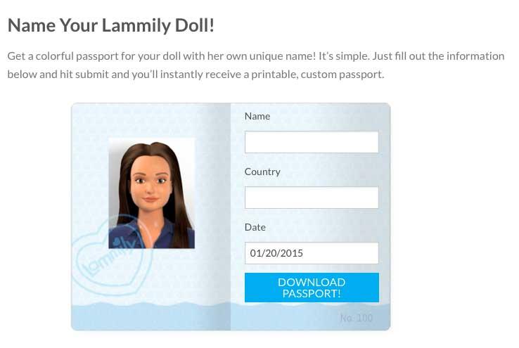 Lammily-passport