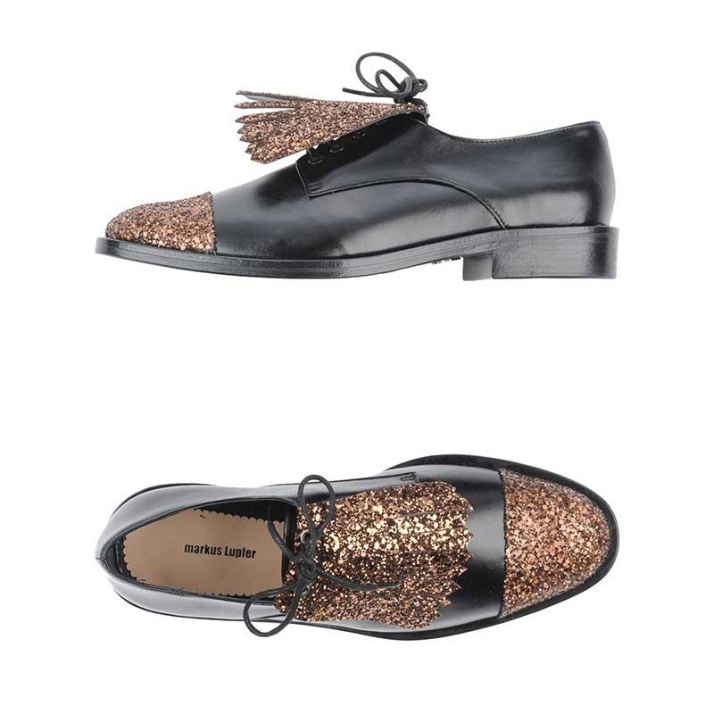 M. Lupfer Zapato de Cordones