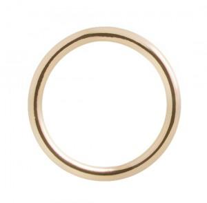 Mono Circle Earring - Rose