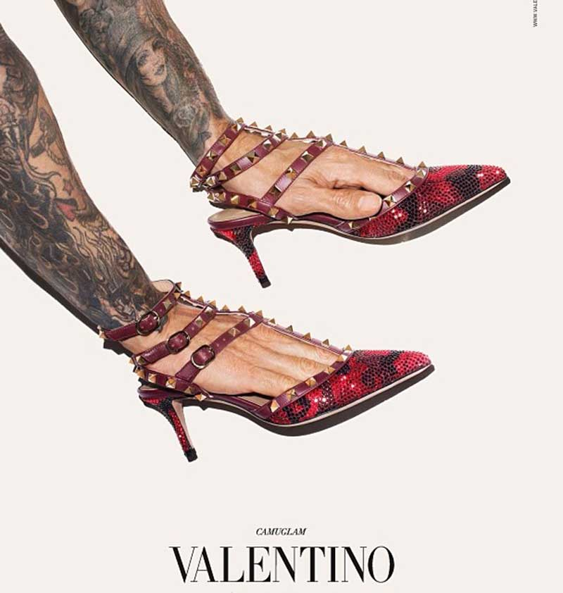 Foto: Valentino Uomo Hand's man in Femme Shoes