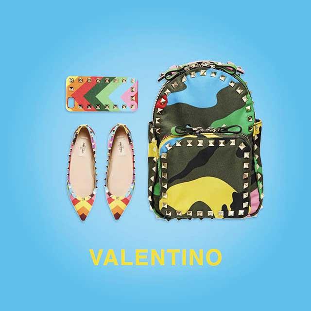 Valentino rainbow rockstud