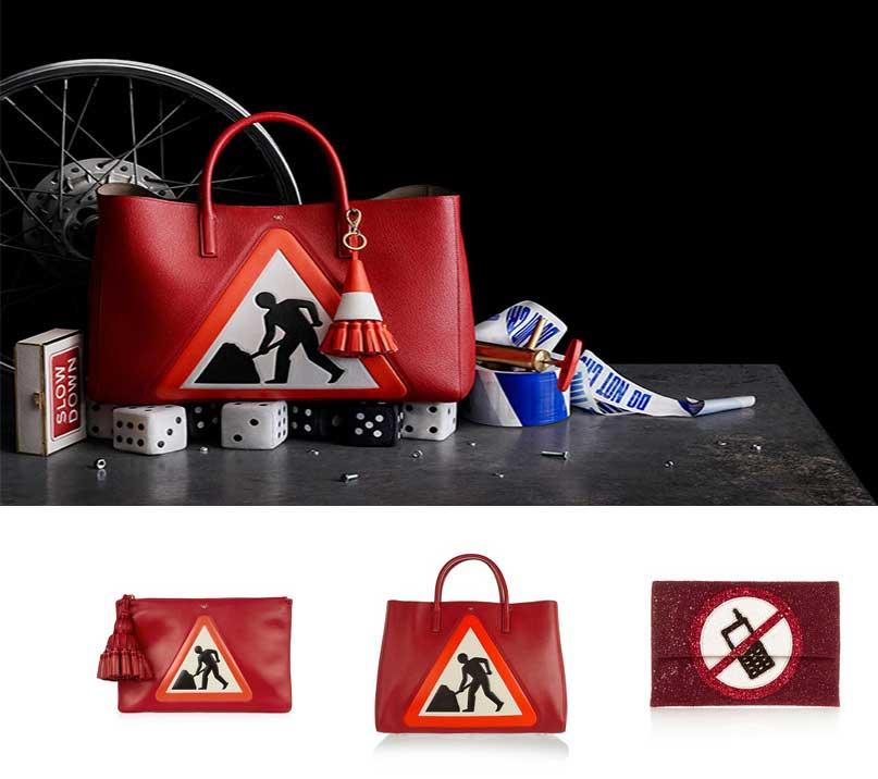 anya hindmarch stickers bolsos con pegatinas