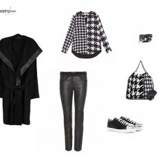 Look del día: Black and White Smart Transgression