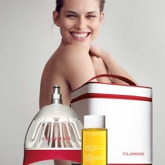 CLARINS MODEL BUST