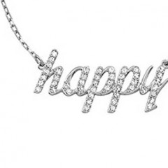 SWAROVSKI HAPPY NECKLACE