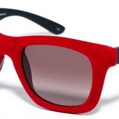 KARL LAGERFELD e ITALIA INDEPENDENT: gafas de sol de terciopelo