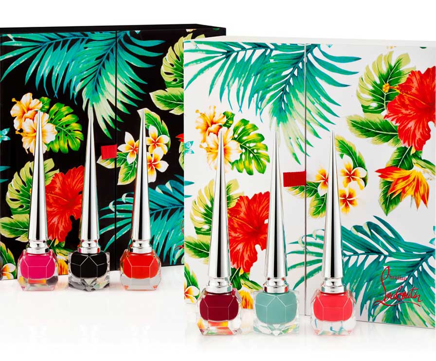 LOUBOUTIN NAILS HAWAI KAWAII COLLECTION