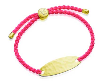 Monica Vinader Bali Friendship Bracelet gold Joy