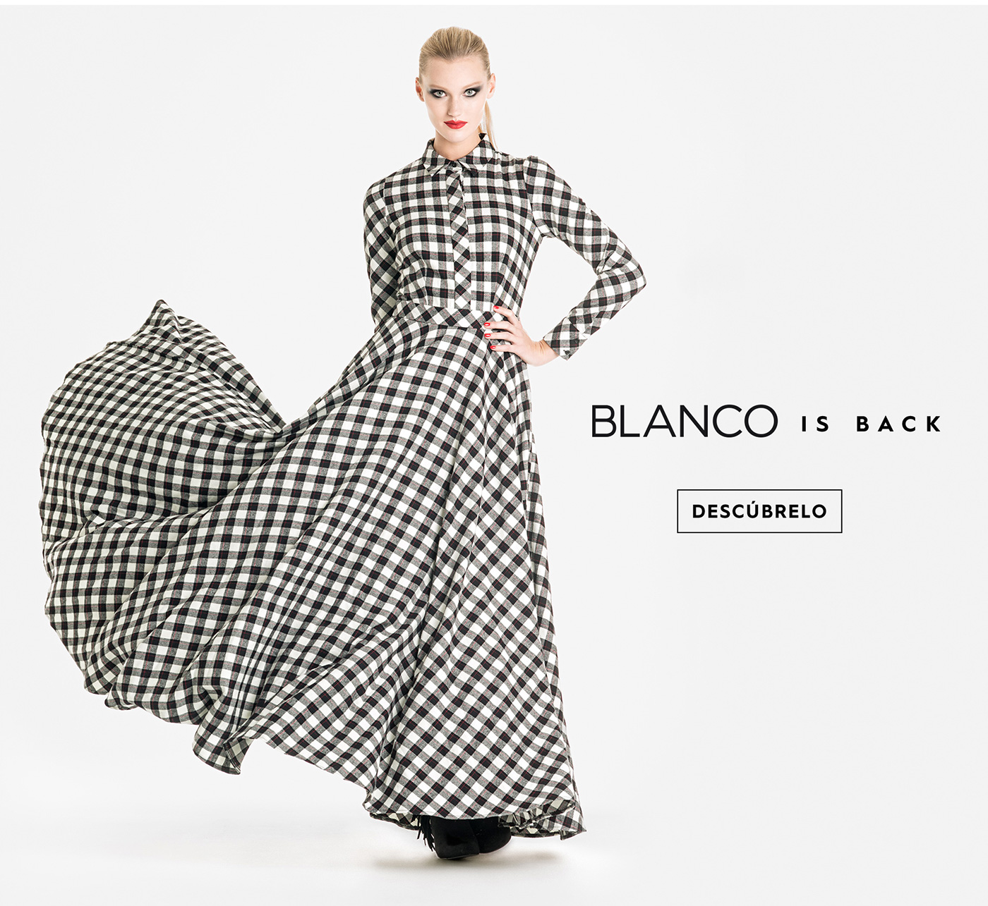 COLECCION TARTAN SUITE BLANCO EXCLUSIVA ONLINE
