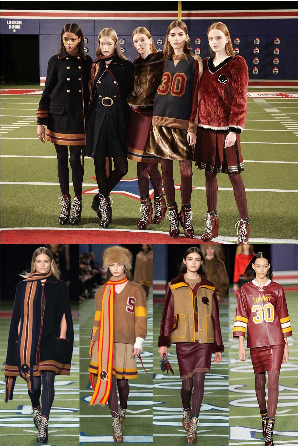 TOMMY HILFIGER COLLECTION FANTASY FOOTBALL