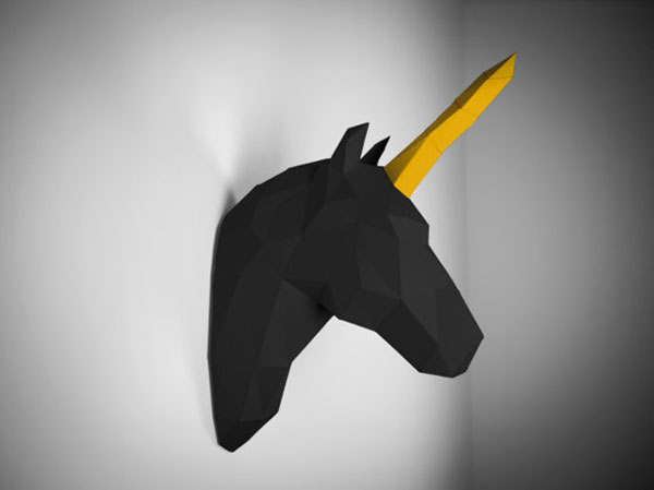 unicornio-black-papertrophy