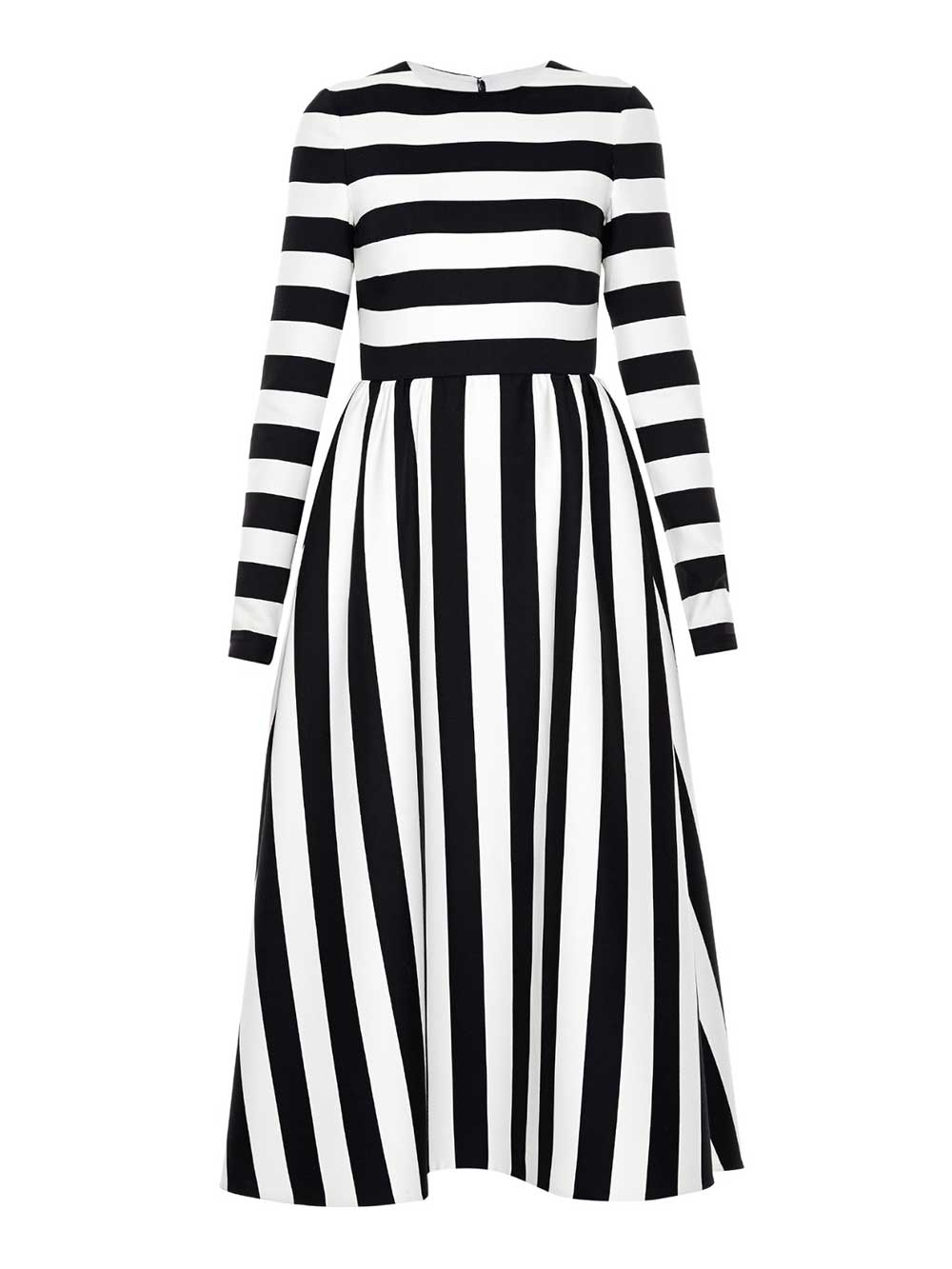 valentino-stripped-dress